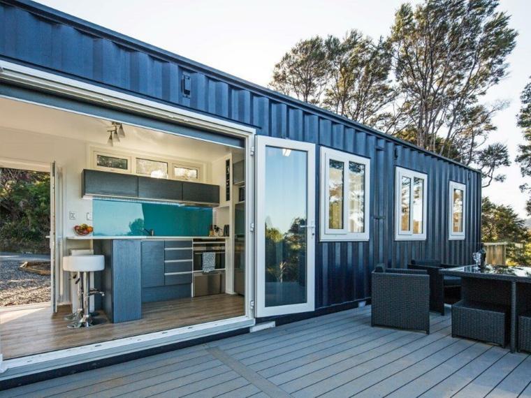casa moderna de contenedores reciclados