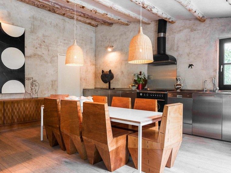 Cocinas rústicas modernas - Que debemos saber sobre el estilo -