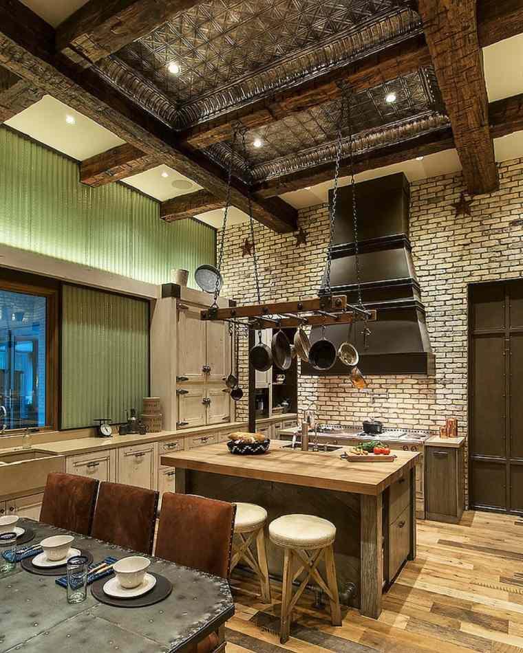 cocinas rústicas modernas y contemporaneas