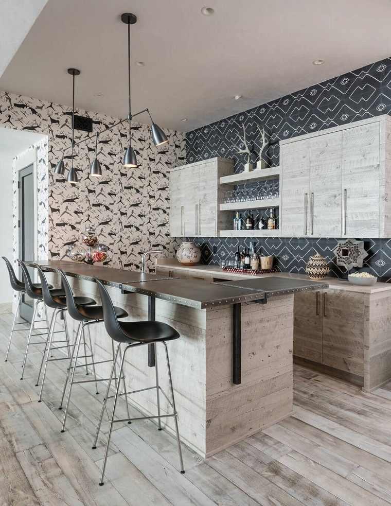 cocinas rústicas modernas de locati architects