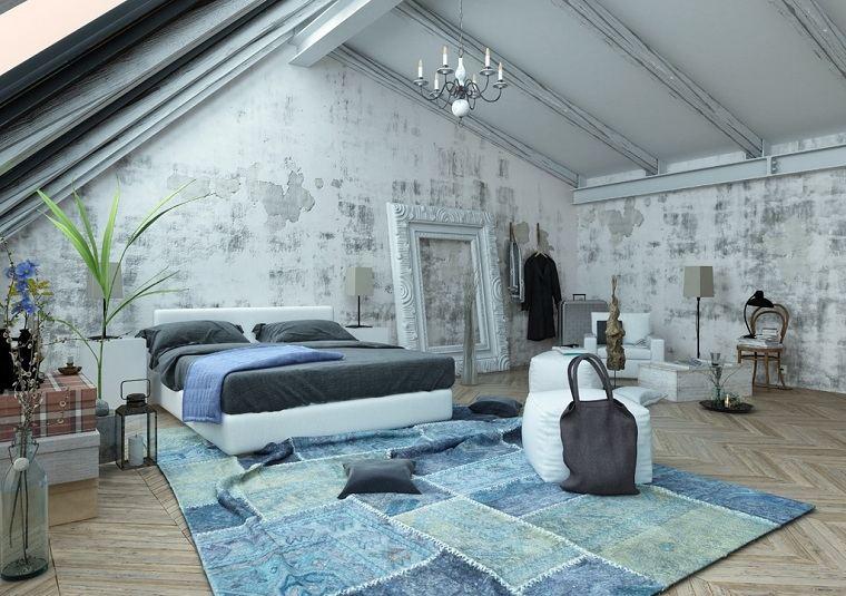 color azul en dormitorio opciones