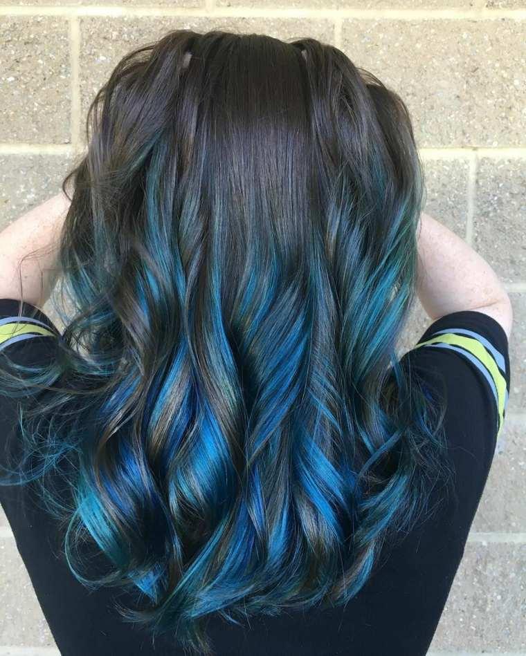 colores-de-cabello-negro-azul-ideas