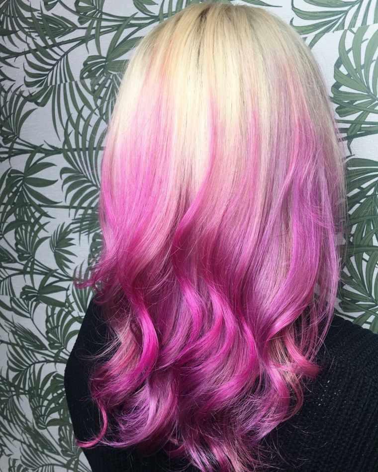 colores-de-cabello-ombre-reves'rosa