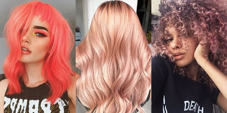 colores de cabello tendencias primavera