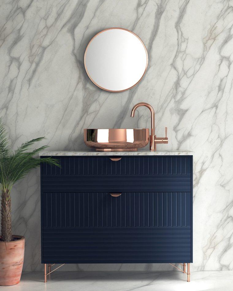combinacion-cobre-marmol-bano