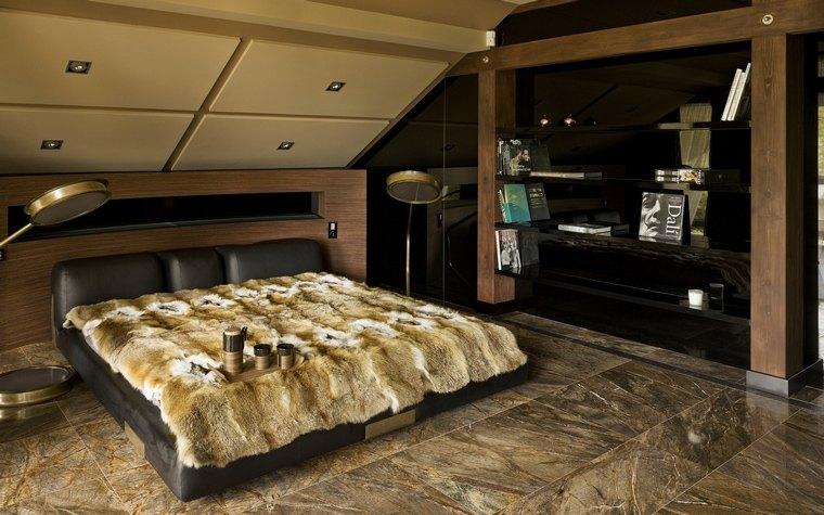 combinaciones de distintas texturas en el dormitorio