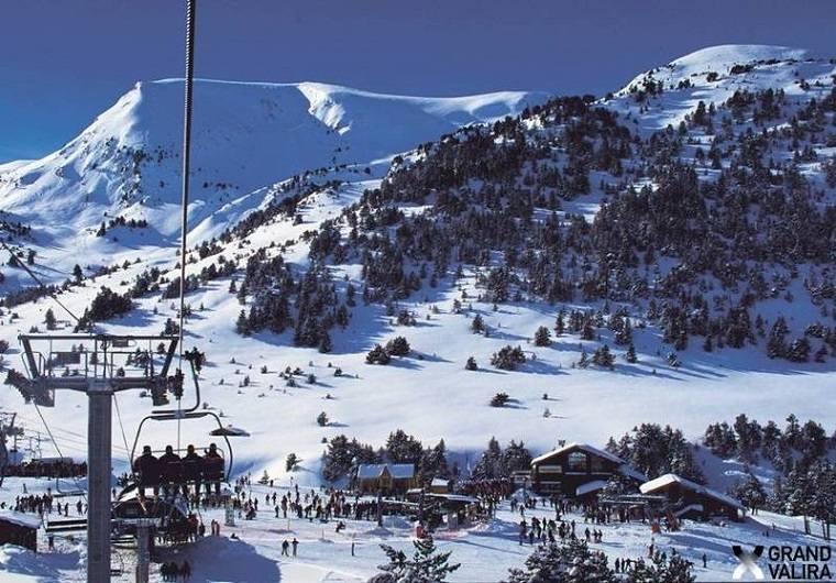 Zona de esquí Grandvalira
