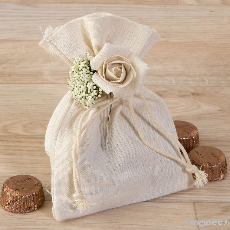 detalles de boda-invitados-bolsa-algodon
