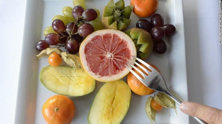 dieta cetogénica frutas