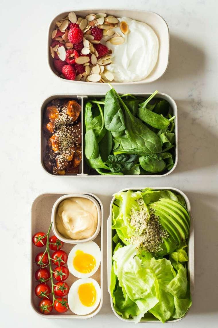 dieta cetogénica idea de menú