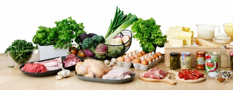 dieta cetogénica lista de productos