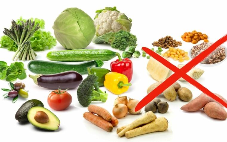 dieta-cetogénica verduras prohibidas