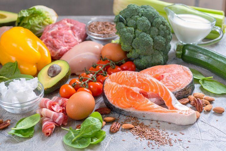 dieta cetogénica-comer-opciones