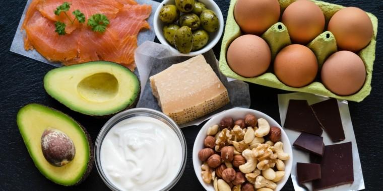 dieta cetogenica peligros-comida