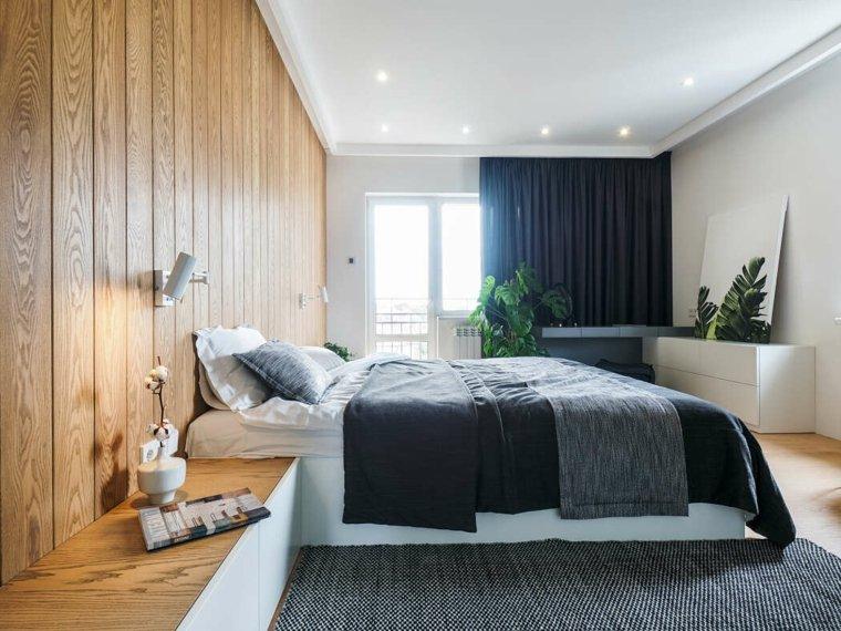 un dormitorio de line design studio