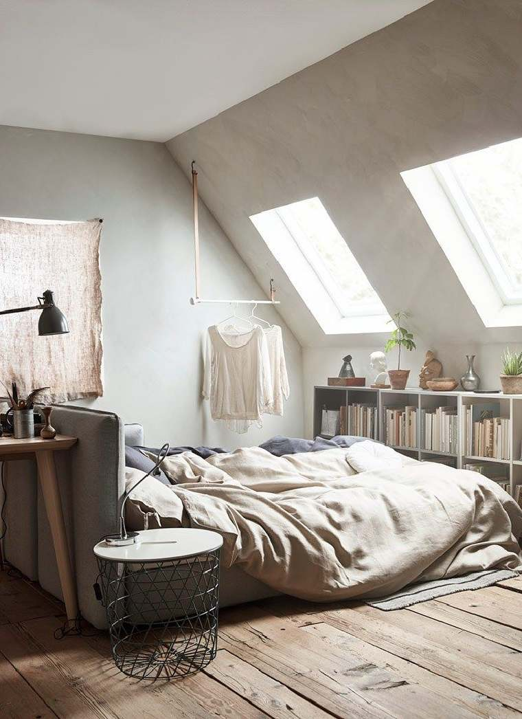 dormitorio en el átcio opciones