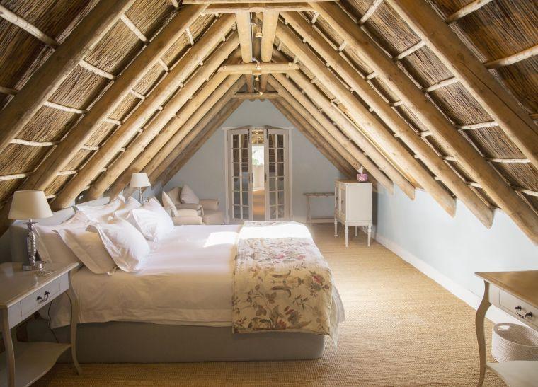 dormitorio con diseño zen