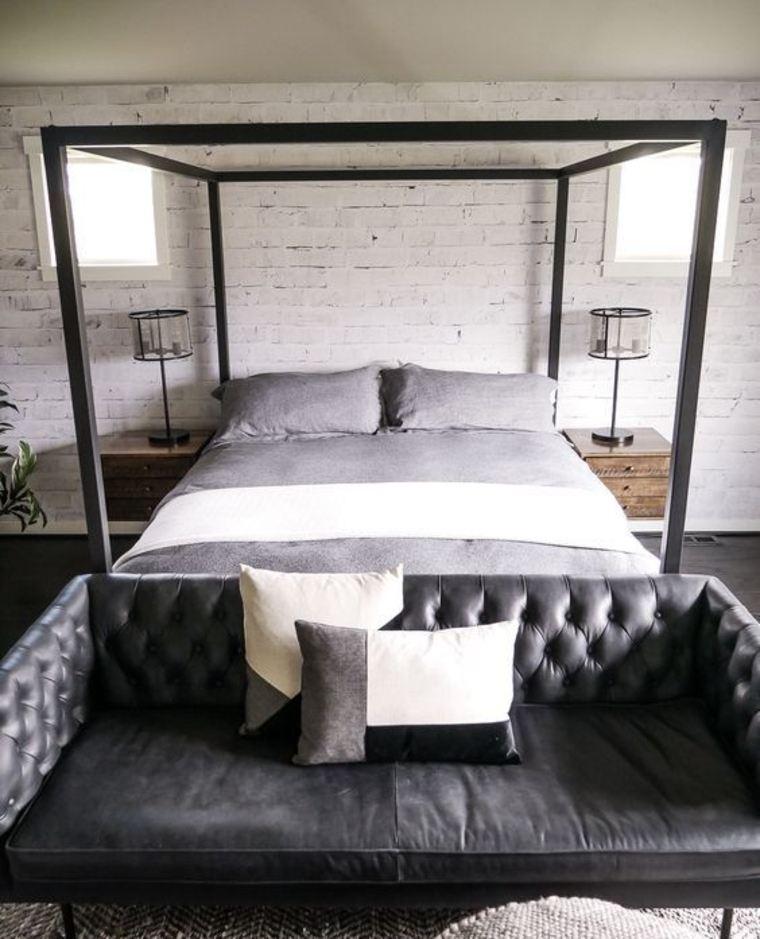 dormitorio-con-sofá-gris