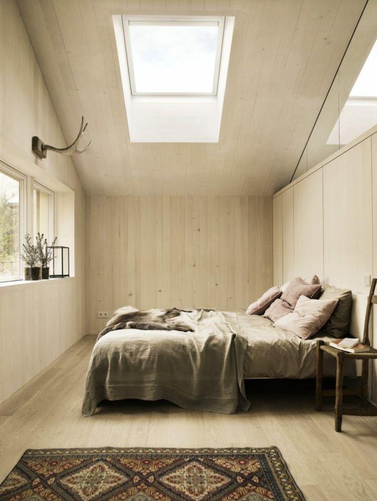 dormitorio al estilo nórdico