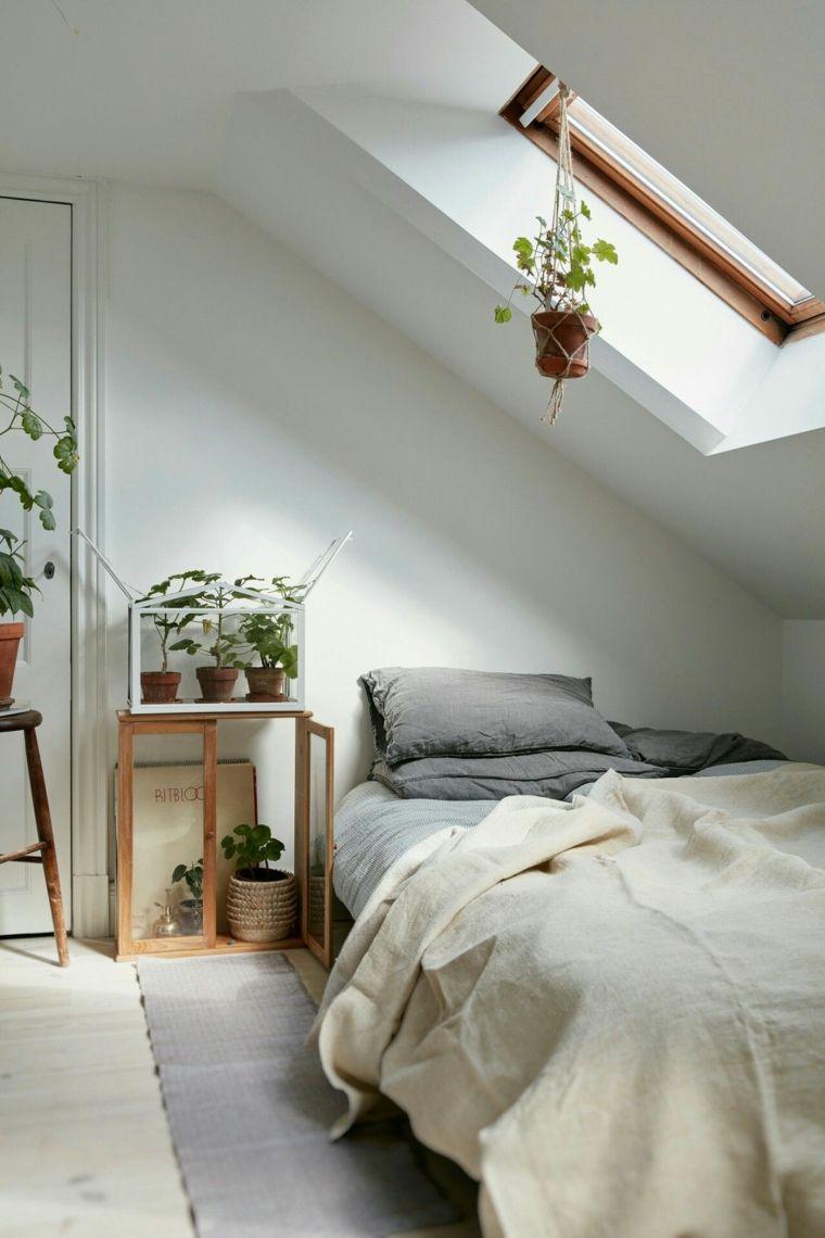 dormitorio pequeño y estrecho