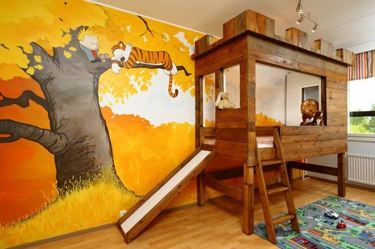 dormitorios infantiles diseño creativo