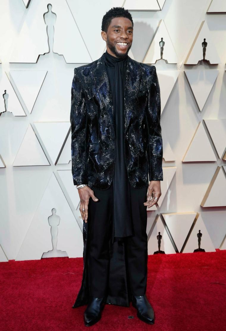 estilo-masculino-Chadwick-Boseman-Oscars-2019