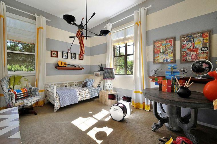 habitación infantil diseño moderno