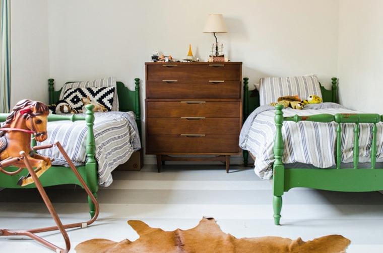 habitación infantil diseño vintage
