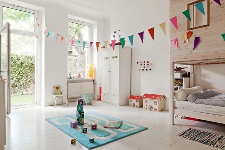 habitación infantil estilo moderno