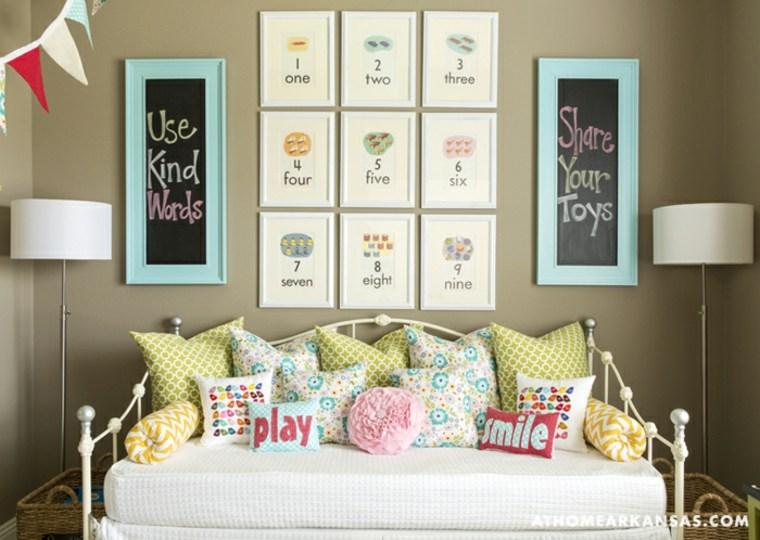 habitación infantil idea de sofá