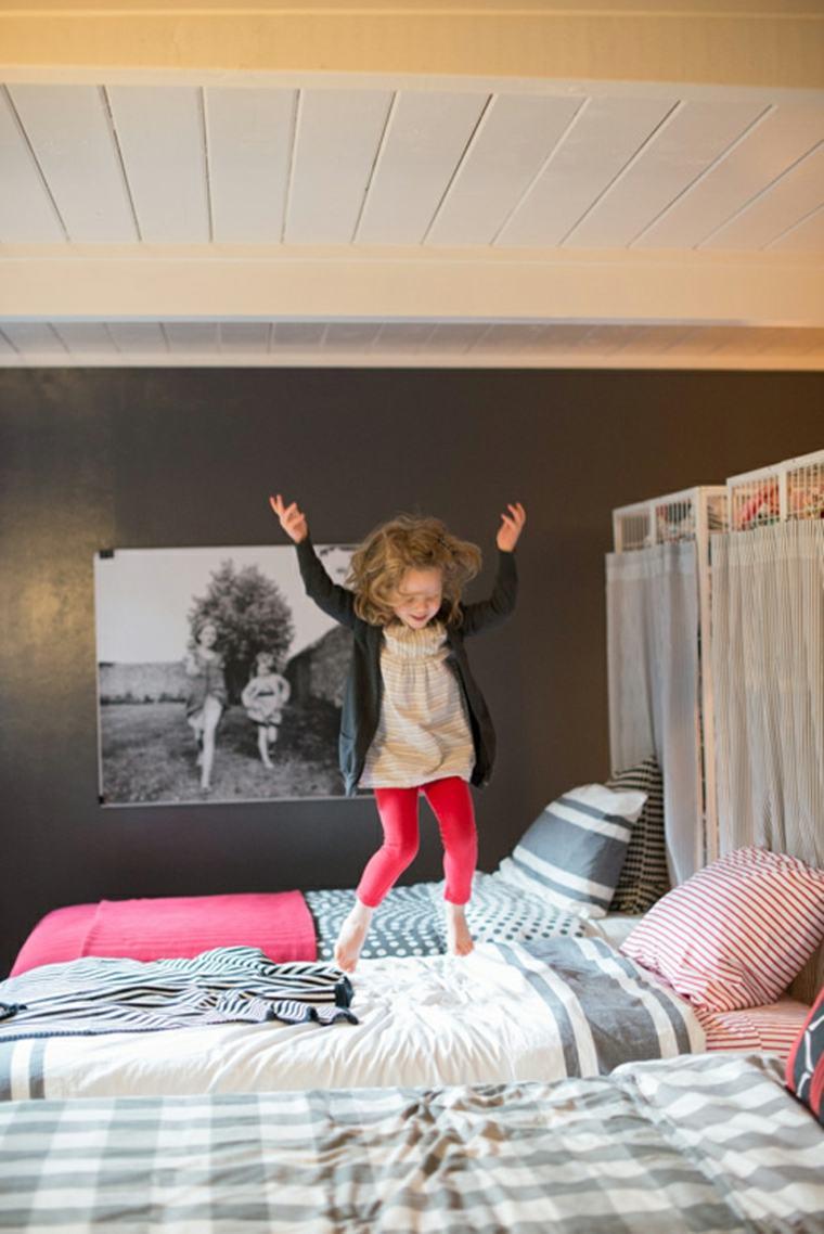 habitación infantil para dos niñas