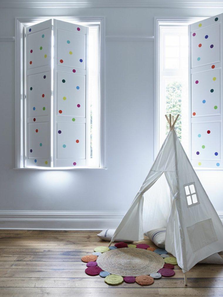 habitación infantil rincón para jugar