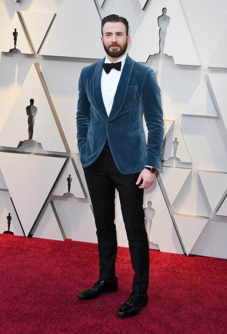 hombres-moda-Chris-Evans-Oscars-2019