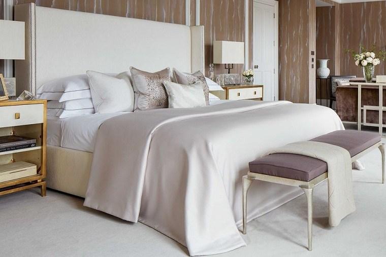ideas para decorar habitaciones-dormitorio-simple