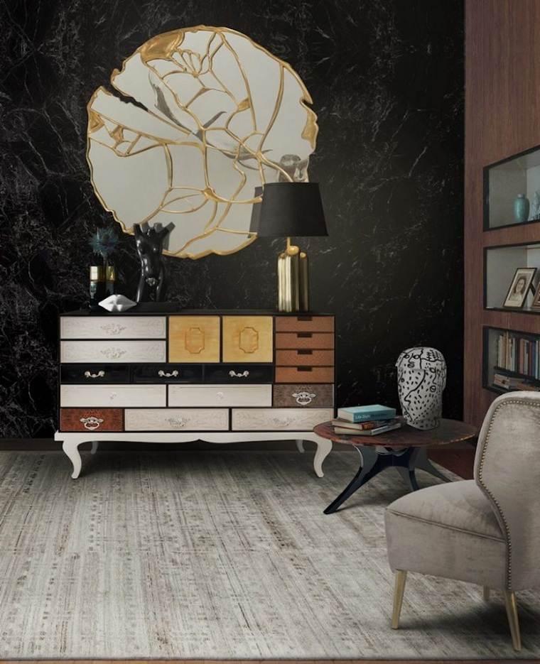 ideas paradecorar habitaciones-espejo-mueble