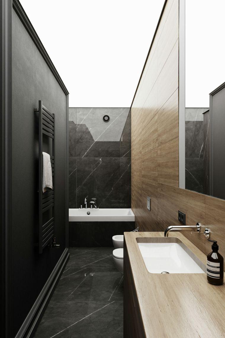 marmol-negro-bano-ideas-diseno