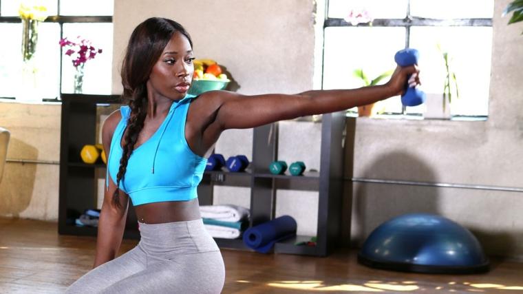 modelos fitness Brittne Babe