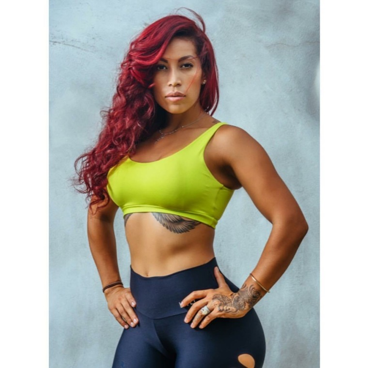 modelos fitness Jenelle Salazar