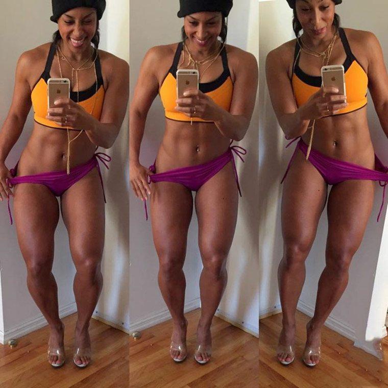 modelos fitness Lita Lewis