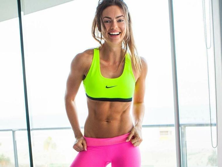 modelos fitness emily skye