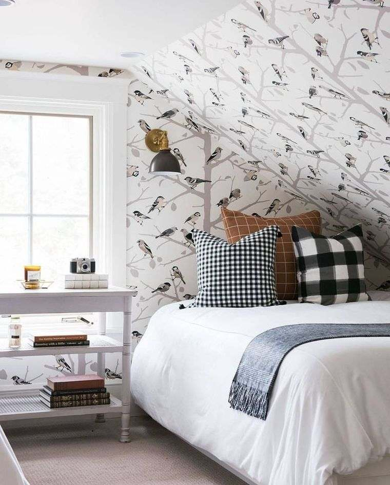 papel de pared para dormitorio