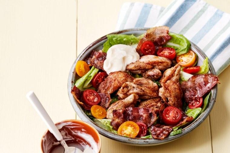 platos de pollo