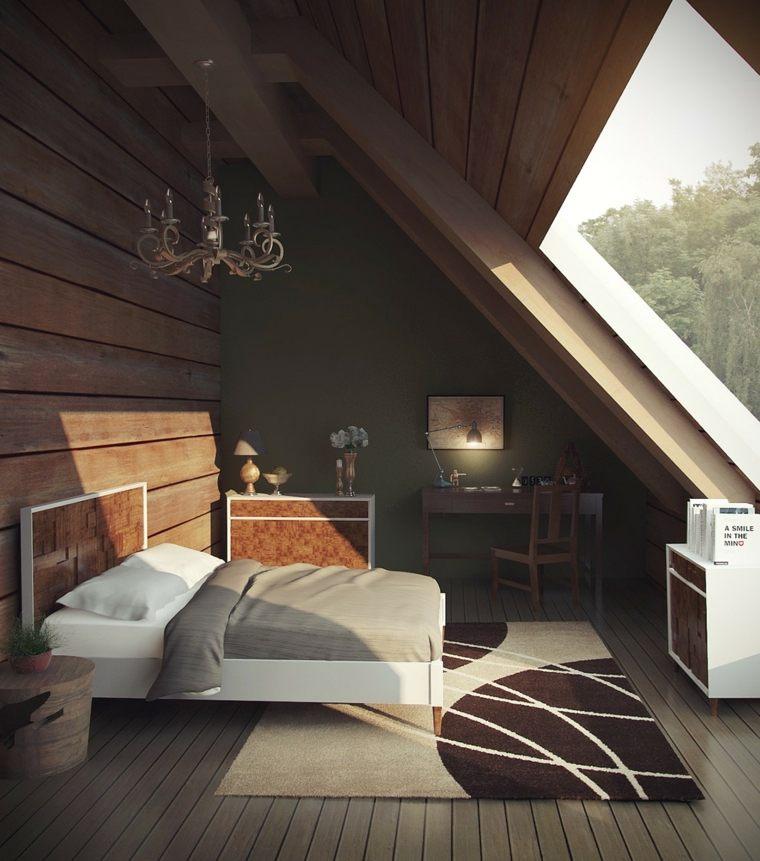 ventana grande en el dormitorio