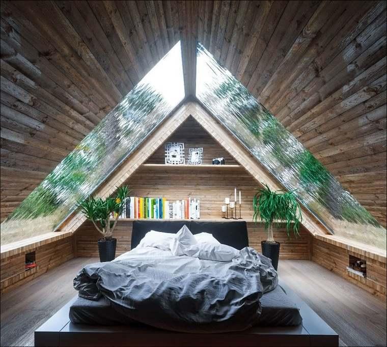 Decoración ático – Ideas y consejos para crear un dormitorio de lujo