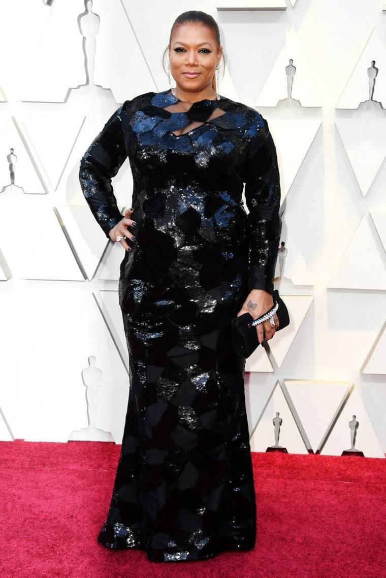 vestidos-oscar-2019-Queen-Latifah