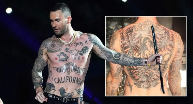 Adam Levine tatuajes
