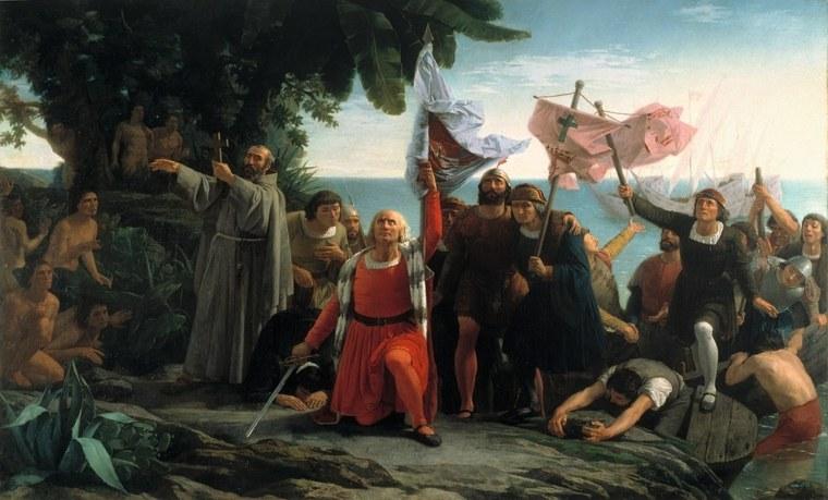 Desembarco de Colón en América
