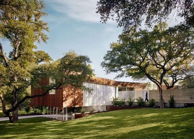 Casas minimalistas modernas – Una casa en Texas diseñada por Alterstudio Architecture