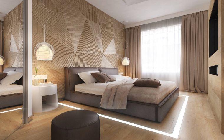 acento-madera-pared-dormitorio