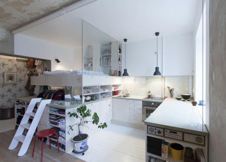 almacenaje en espacios pequeños cocina